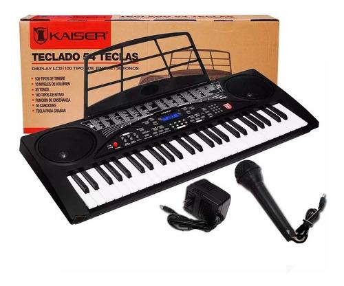 Teclado Musical  54 Teclas Funcion De Grabacion Fabuloso Wow