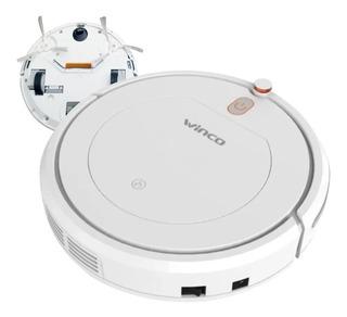 Aspiradora Robot Inteligente Sensores Winco 50min C/ Control