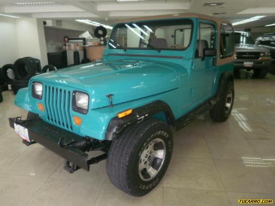 Jeep Wrangler Sincronica