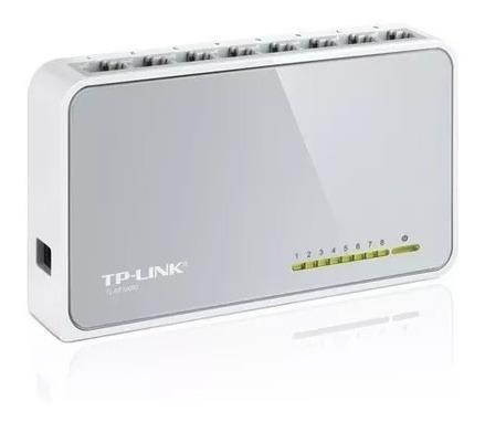 Mini Switch 8 Portas Tplink 10/100 Rj45 Tl-sf1008d