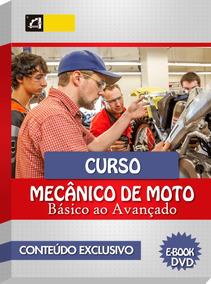 Curso Mecânica E Manutenção De Motos Em 56 Dvds Cod:117
