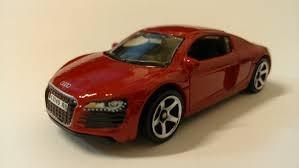 Matchbox Sports Audi R8 Vermelho 2011 - Loose