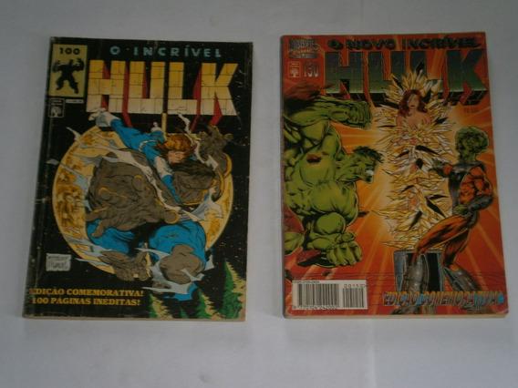 Hulk Formatinhos Especiais - Raros E Antigos R$ 10,00 Cada