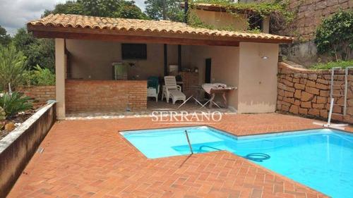 Imagem 1 de 27 de Casa Com 4 Dormitórios À Venda, 400 M² Por R$ 1.200.000,00 - Condomínio Chácaras Do Lago - Vinhedo/sp - Ca0370