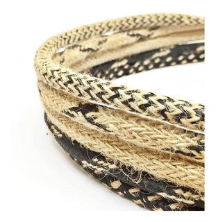 Cable Textil Arpillera Yute Hasta 300w Normalizado