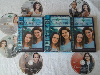 Box Dvd - Gilmore Girls - A Segunda Temporada Completa