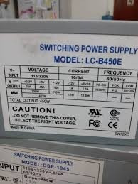 Switching Power Suplly - Modelo Lc-b450e