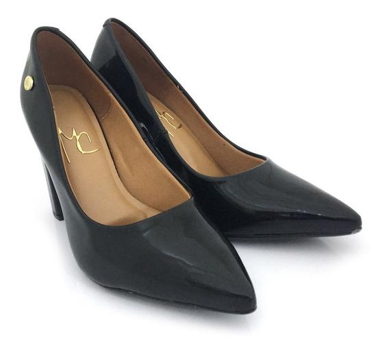 Zapatos Stiletto Mujer Vestir Taco Massimo Chiesa Charol