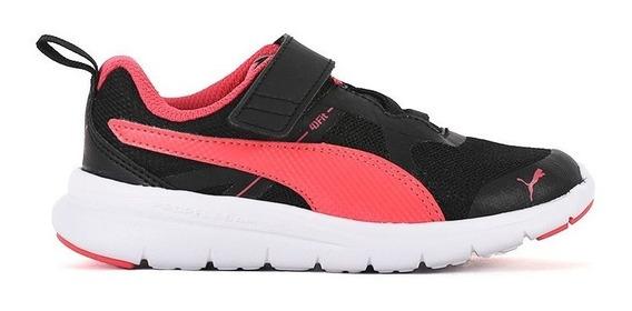 Zapatillas Puma Flex Essential Con Velcro Neg Infantil