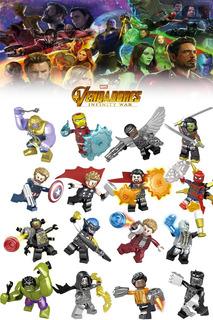 Set Tipo Lego Vengadores Avenger Infinity War