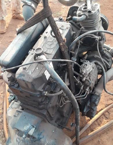 Motor Om 364 Turbo Intercooler Mb 710 Completo