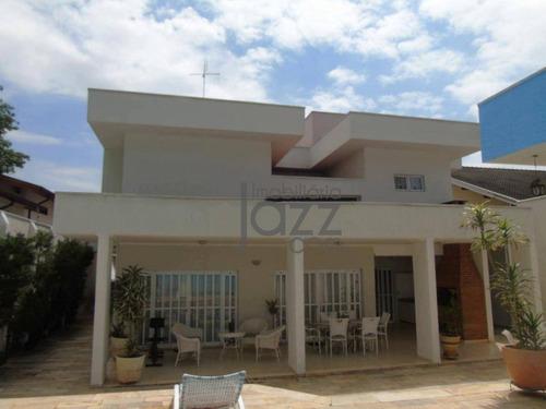 Maravilhosa Casa Com 5 Suítes À Venda, 400 M² Por R$ 1.300.000 - Jardim Santa Marcelina - Campinas/sp - Ca6795