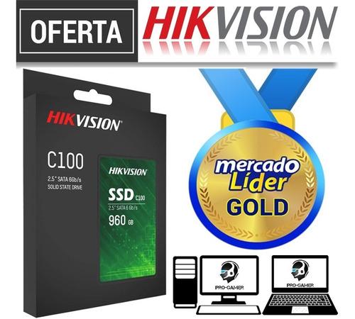 Imagen 1 de 2 de Disco Solido Ssd Hikvision 1tb / 960gb 2.5 Nuevos Inc Iva
