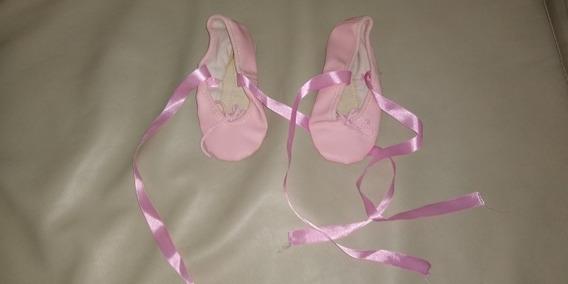 Ballet Zapato Zapatito Zapatillas Ballet Media Punta Niñas28