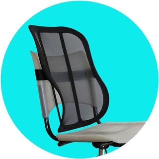 Suporte Apoio Lombar Cadeira Anatômico Casa Dor Costas