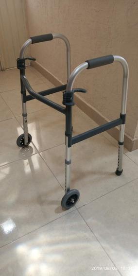 Andador Plegable De Aluminio Invacare, Seminuevo