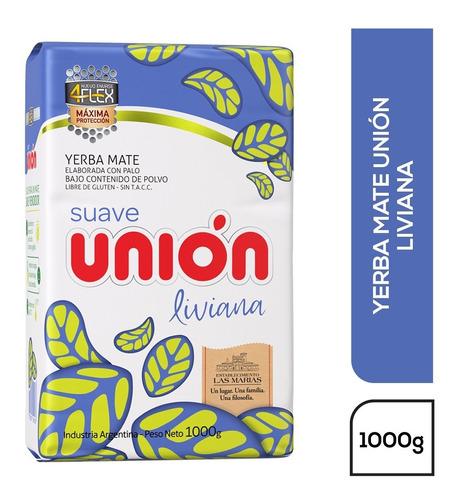 Imagen 1 de 1 de Yerba Mate Unión Liviana 4flex 1kg