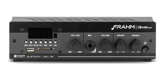 Amplificador Receiver Som Ambiente Frahm Slim 1000 Ap Ap0374
