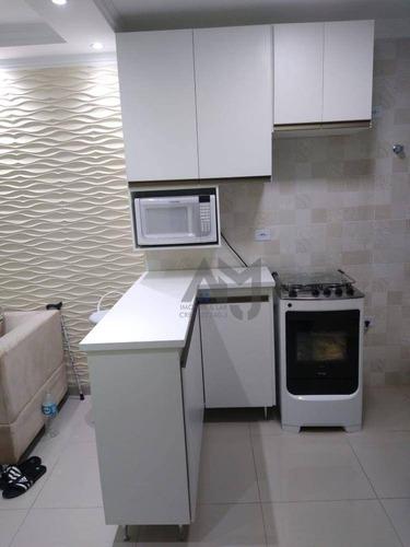 Imagem 1 de 11 de Apartamento Com 2 Dormitórios À Venda, 53 M² Por R$ 223.000,00 - Vila Guilhermina - São Paulo/sp - Ap0217