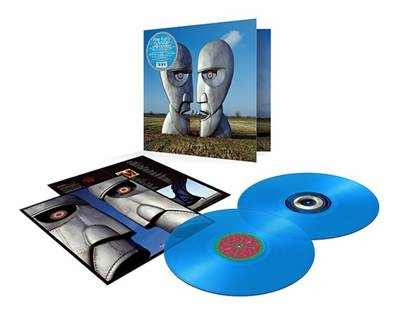 Lp Pink Floyd - The Division Bell Blue Edition 2 - Lacrado