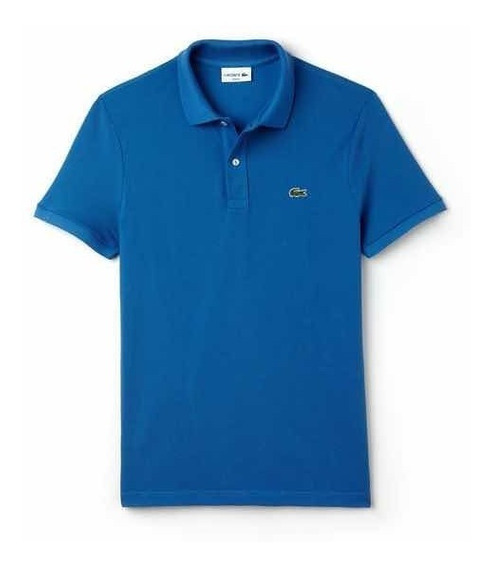 Polo Lacoste L1212 Corte Classic Fit Color Medway