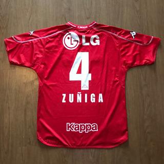 Camisa América De Cali Kappa De Jogo #4 Zuniga Colômbia 2003