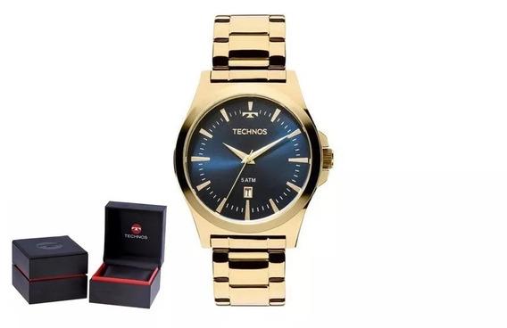 Relógio Technos Steel Masculino 2115lan/4a + Garantia