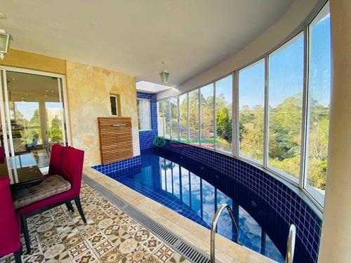 Casa Com 4 Dormitórios À Venda, 300 M² Por R$ 830.000,00 - Paysage Noble - Vargem Grande Paulista/sp - Ca5848
