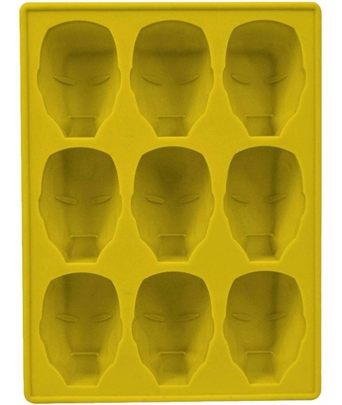 Iron Man ( Homen De Ferro) Silicone Tray (forma De Silicone