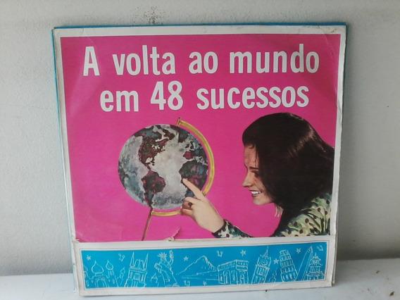 Caixa Box C 4 Lp A Volta Ao Mundo Em 48 Sucessos