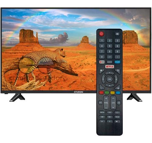 Hyundai Televisor Led 40¨ Full Hd Smart Tv Linux Netflix