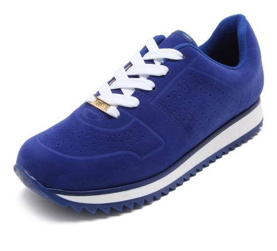 Tênis Vizzano Jogging Nobuck Azul