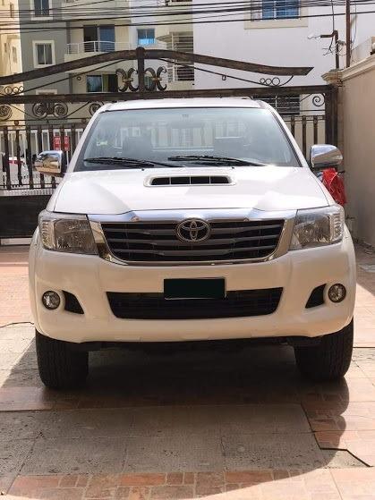 Toyota Hilux Srv Blanca 2015
