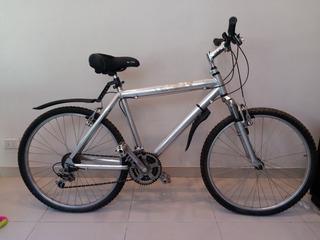 Bicicleta Rodado 28 Shimano Cuadro De Aluminio