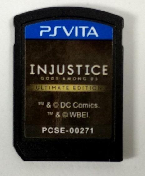 Injustice Gods Among Us Ultimate Edition - Ps Vita