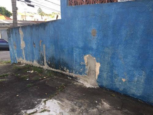 Terreno À Venda, 140 M² Por R$ 372.000,00 - Vila Francisco Matarazzo - Santo André/sp - Te0888