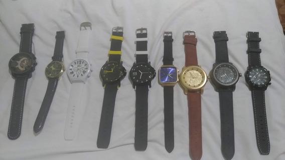 Lote 9 Relógios.