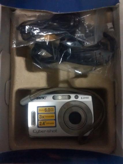 Camara Sony Cyber-shop Dsc-s500 6.0 Megapixels