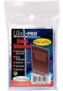 100 Sleeves Ultra Pro Estándar Para Barajitas De Colección