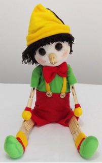 Pinocho Muñeco Madera N° 1 28 Cm Didactikids