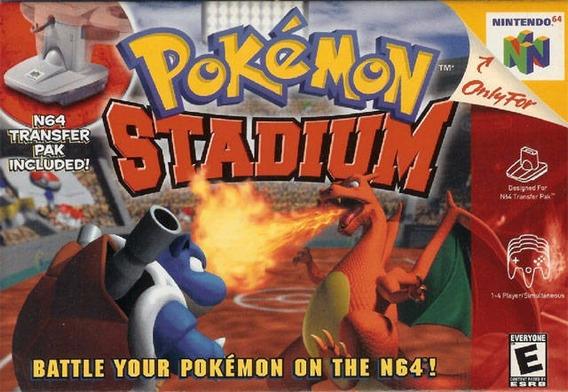 Pokemon Stadium Cartucho Nintendo 64