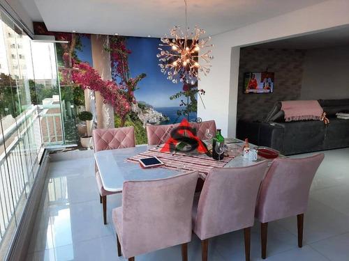 Apartamento Com 3 Dormitórios À Venda, 106 M² Por R$ 1.450.000,00 - Mooca (zona Leste) - São Paulo/sp - Ap43917