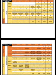 Calendario De Estudio Enarm 2020 Digital