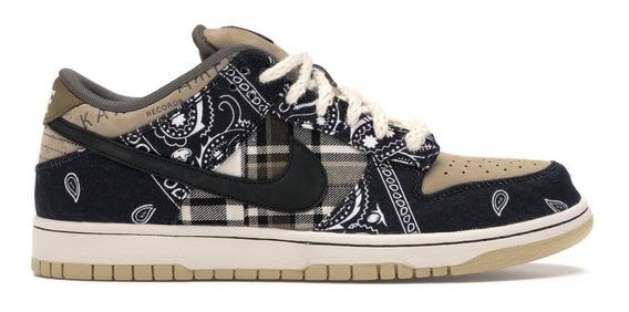 Nike Sb Dunk Low Travis Scott (regular Box) Por Encomenda!
