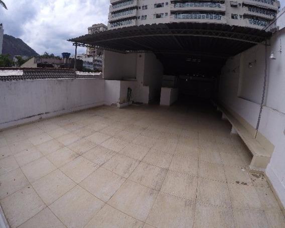 Aluguel Comercial Em Humaitá, 300m2 Area Útil, Rio De Janeiro -rj - Po-hu-001