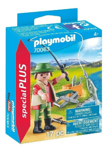 Playmobil Pescador 70063 Special Plus Muñeco Ink Educando