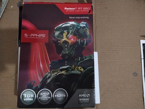 Placa De Video Sapphire R7 250 1gb Gddr5