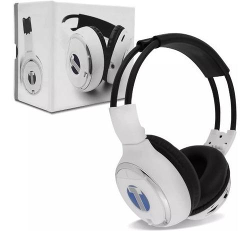 Fone Wireless Para Encosto De Cabeça Branco Tech One