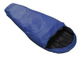 Saco De Dormir Micron Nautika Azul E Preto