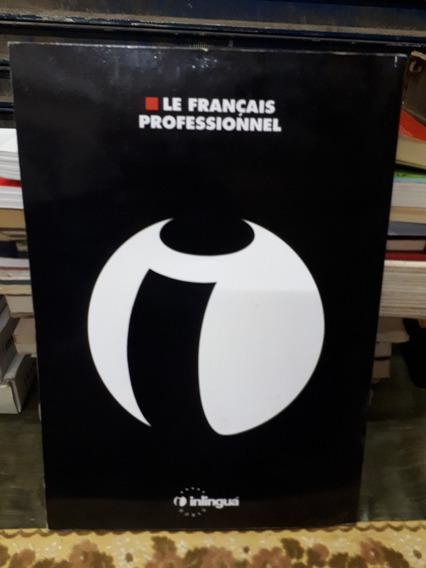 Antigo Livro Curso Inlingua World Francês Raro